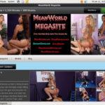 Mean World MegaSite Login Info