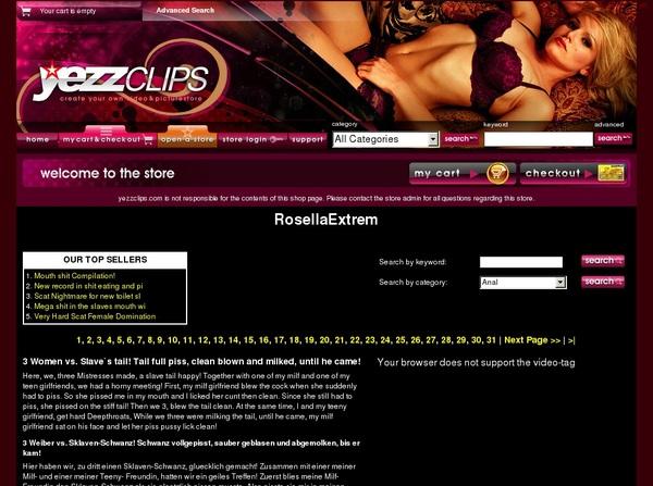 Yezzclips.com Account New