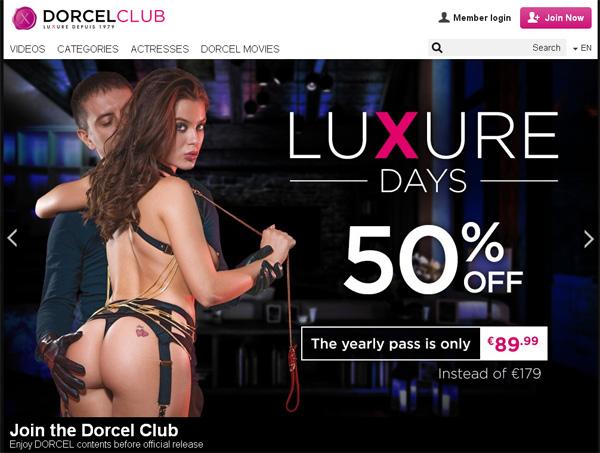 Dorcel Club Free Login Account