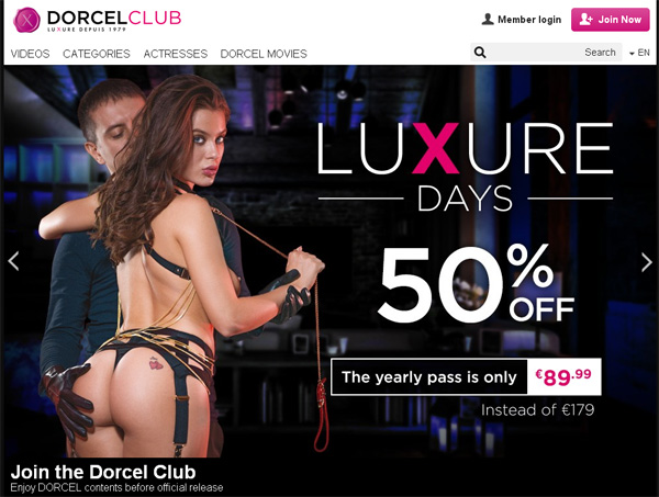 Dorcelclub Free Acount
