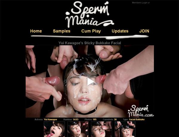 New Spermmania.com Site Rip