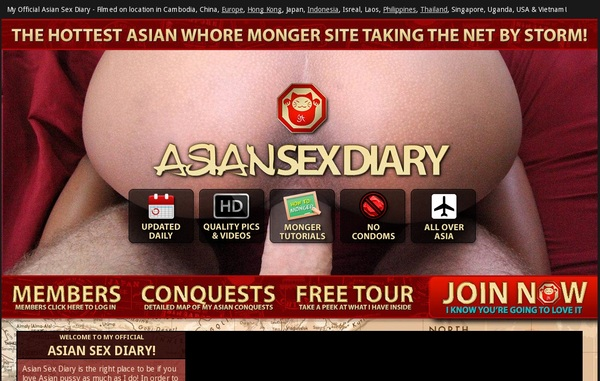 Asiansexdiary.com 1 Day Trial