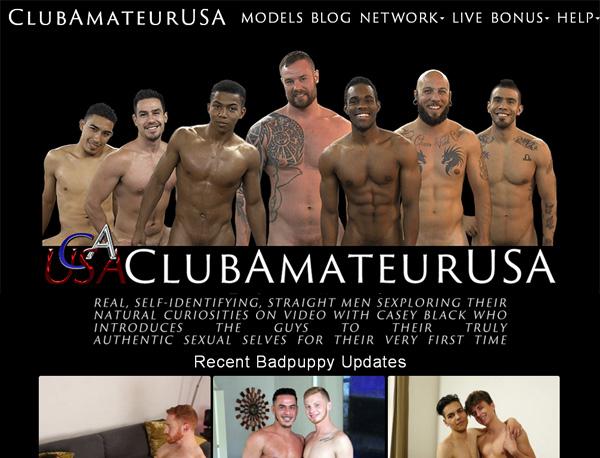 Club Amateur USA Stolen Password