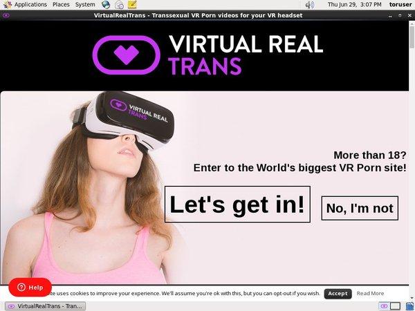 Virtual Real Trans 安売り