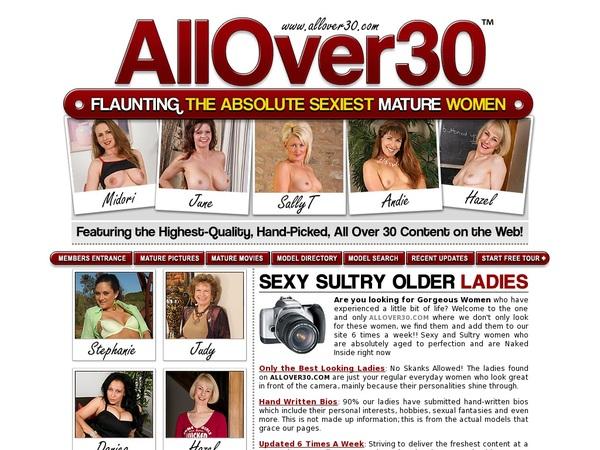 Trial Allover30.com Membership