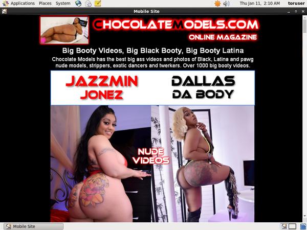 Chocolatemodels.com Porn Site