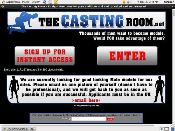 The Casting Room With Yen