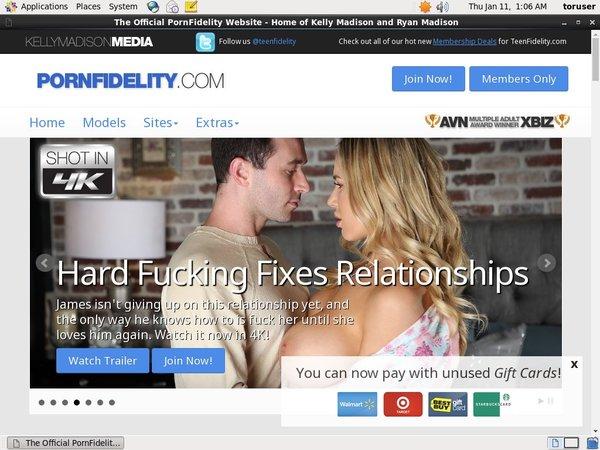 Pornfidelity Free Login Password
